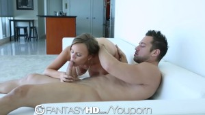 HD - FantasyHD Girl gets fucked in her perfect pussy