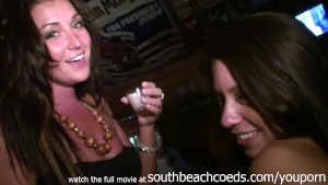 real girls doing naked body shots in key west bar