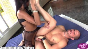 ShemaleIdol Alex Victor Ass fucked By Latina Shemale