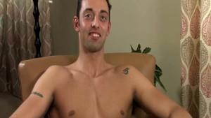 Handsome Latin Italian Strokes His Cock