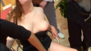 Stephanie gangbanged by co-workers