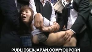 Yuma Asami busty gets doggy in bus trip
