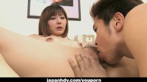 Lovely Japanese housewife loves having her hairy pussy boned hard