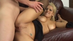 Blonde Cum-Swallows Every Last Drop - Pink Kitty