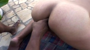 Hot Beefy Action Fucking and Sucking Beside the Pool