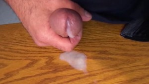 HD Cum spill in Slow Mo