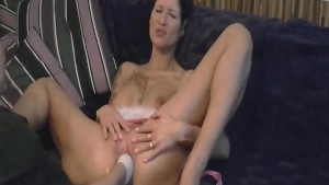 Hot amateur slut fisted in her