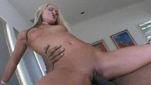 blonde slut enjoy a big black dick to fuck and suck interracial porn