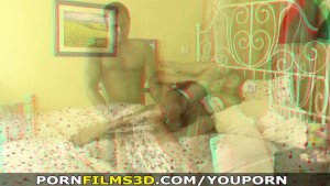 Porn Films 3D - Hard cock in the ass feels so good