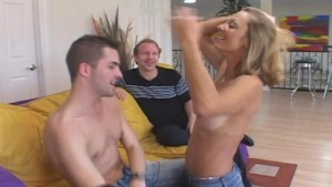 Happy Couple Looks For Young Cock To Please Wife