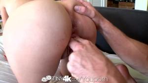 4K HD - Tiny4K Kimberly Costa shows off her nice petite body