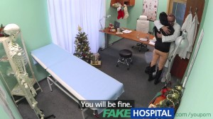 FakeHospital Patient needs more than a prescription for the Christmas holidays