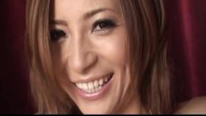 Slim Shiori Ayase stimulating her pussy