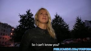 PublicAgent Cute blonde sucks