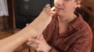 Foot Lovin Teasing And Gesture