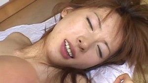 Oriental hairy pussy fucked from behind