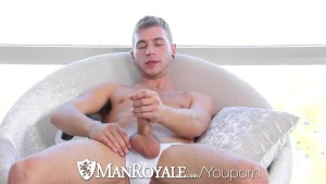 HD - ManRoyale Soccer twink takes huge cock in his tight virgin hole