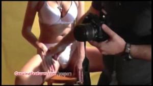 Czech amateur girl masturbates