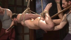 Bound Stud Begs To Blow His Load