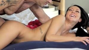 Travelling Businessman gets Erotic Hotel Massage