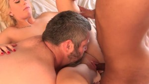 Blonde Wife Creampied By Black