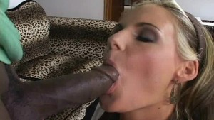 Black man fucks MILF in a crib
