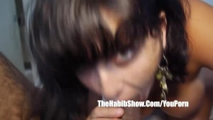 brazilian milf pussy banged from the hoods of rio