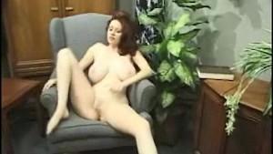 Kathryn masturbates her pussy