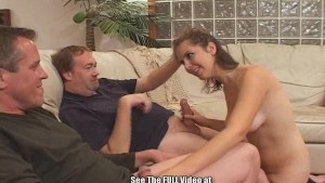 Hot Young Slut Wife Training Double Fuck