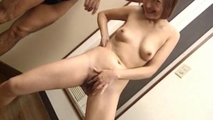 Mao sucks dong and pees before and after getting sex toys in slit