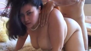 Very sexy asian BBW with lovel
