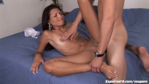 Skinny Latina Teen Fucks Like a Pro!