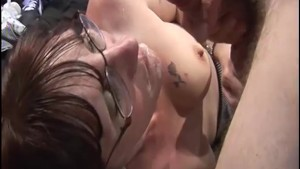 Swingers party gangbang party in a UK sex club