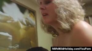 Milf Stacey Says Aloha To A Big Cock