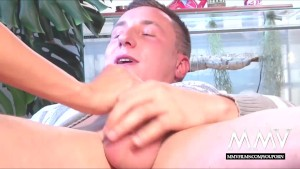 MMV FILMS Redhead Gina with an