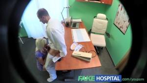 FakeHospital Horny blonde milf wants doctors cum inside her
