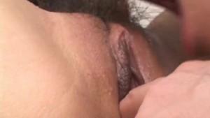 Rika Sakurai arouses her crack before getting sucked cock in it