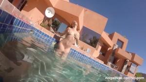 Abigail Mac Pool Fun