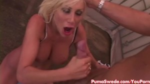 Busty European Babe Puma Swede Gets Fucked Good For Facial!