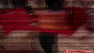 Real european hooker rimmed and sucking dick