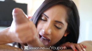 Passion-HD - Horny Chloe Amour plays with dildo
