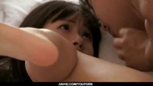 Kotomi enjoys rough pussy pounding on cam