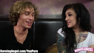 BurningAngel Emo Teens FIRST time on Camera