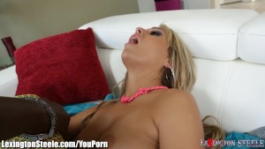 Young Babe Takes Huge 1Ft Cock in Asshole