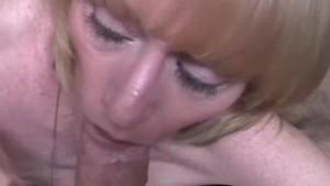 Amateur Housewife Swallows Cum