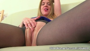 Big titted milf Lily from the