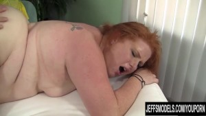 Red Head BBW Scarlett Raven fu