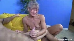 Milf Notices Him Jerking Off In Her House Again