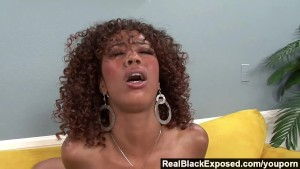 RealBlackExposed - Two Black Babes Sharing a Cock