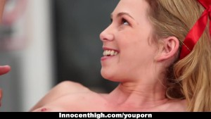 InnocentHigh - Promiscuous Teen Fucks Teacher